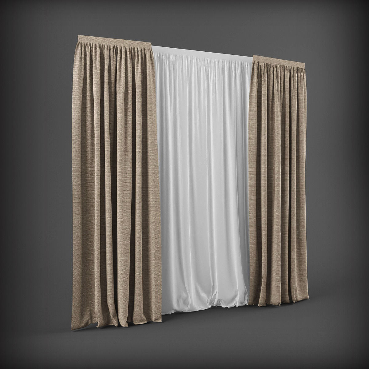 3d curtain model 9 free download | beautiful curtains, curtains.