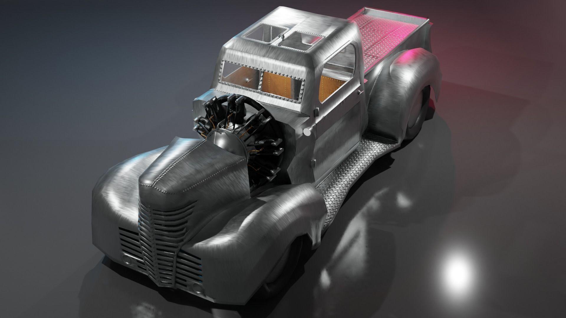 Airplane Engine Truck