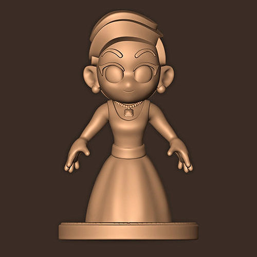 LADY GAGA CHIBI LIVE FROM THE OSCARS