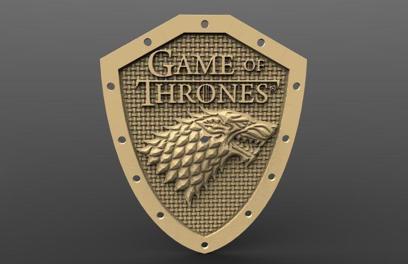 Clock Stark Game of thrones