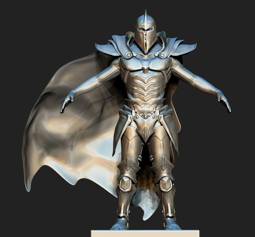 3d paladin style armor cgtrader paladin style armor 3d model ztl 1 publicscrutiny Gallery