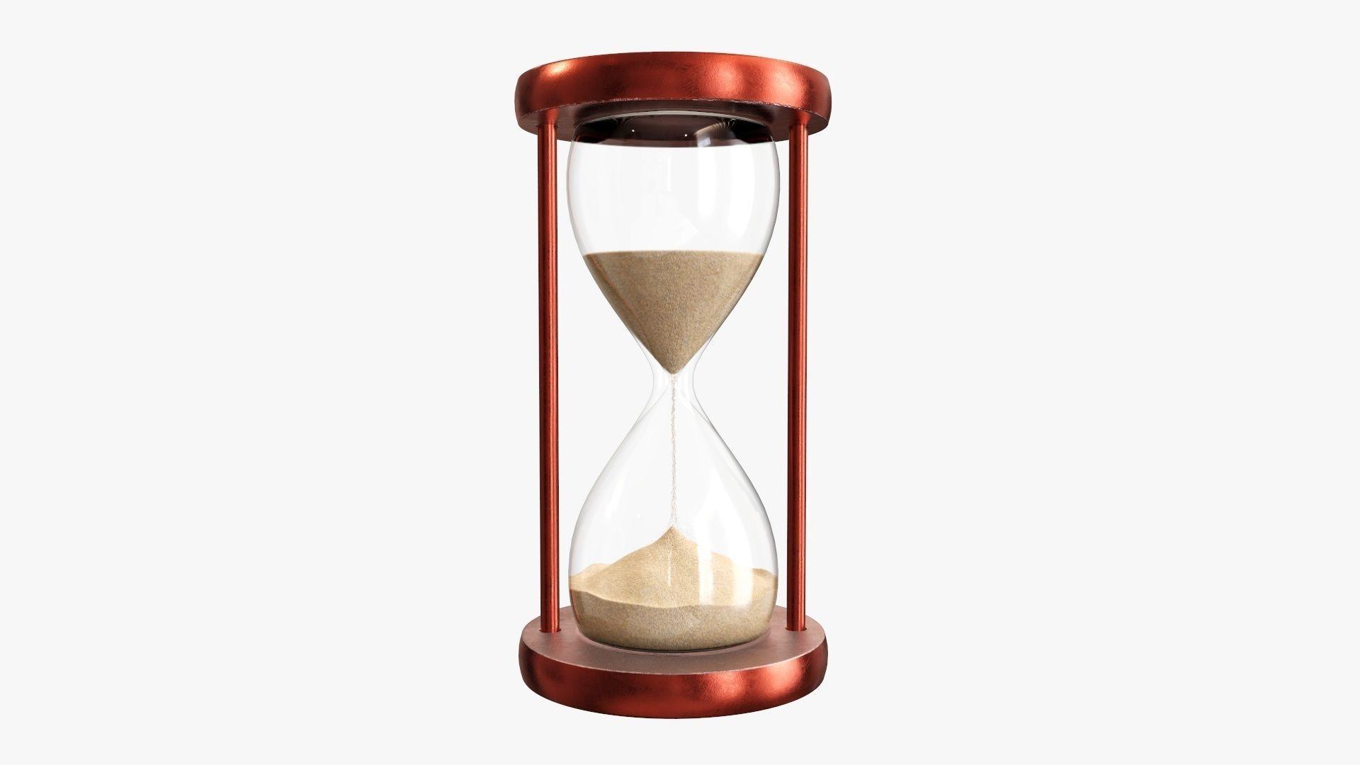 Hourglass sandglass egg sand timer clock 01