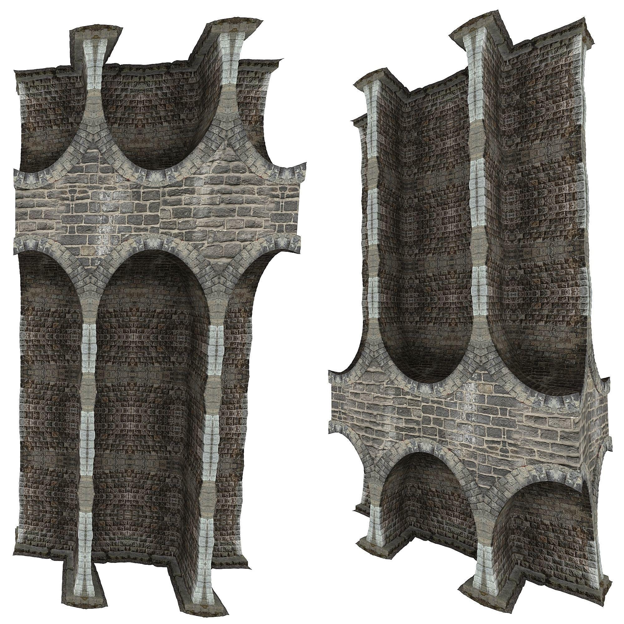 Gatehouse 01 Pillar 09