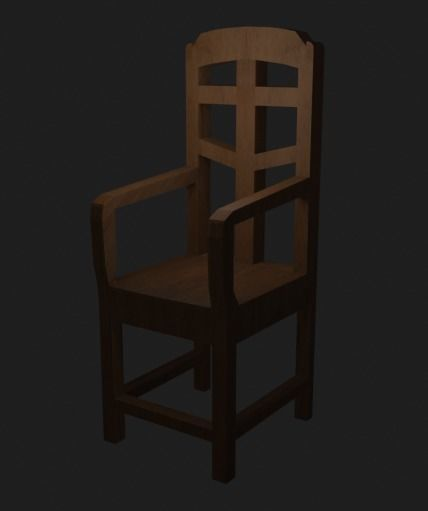 Wooden Chair for decouration