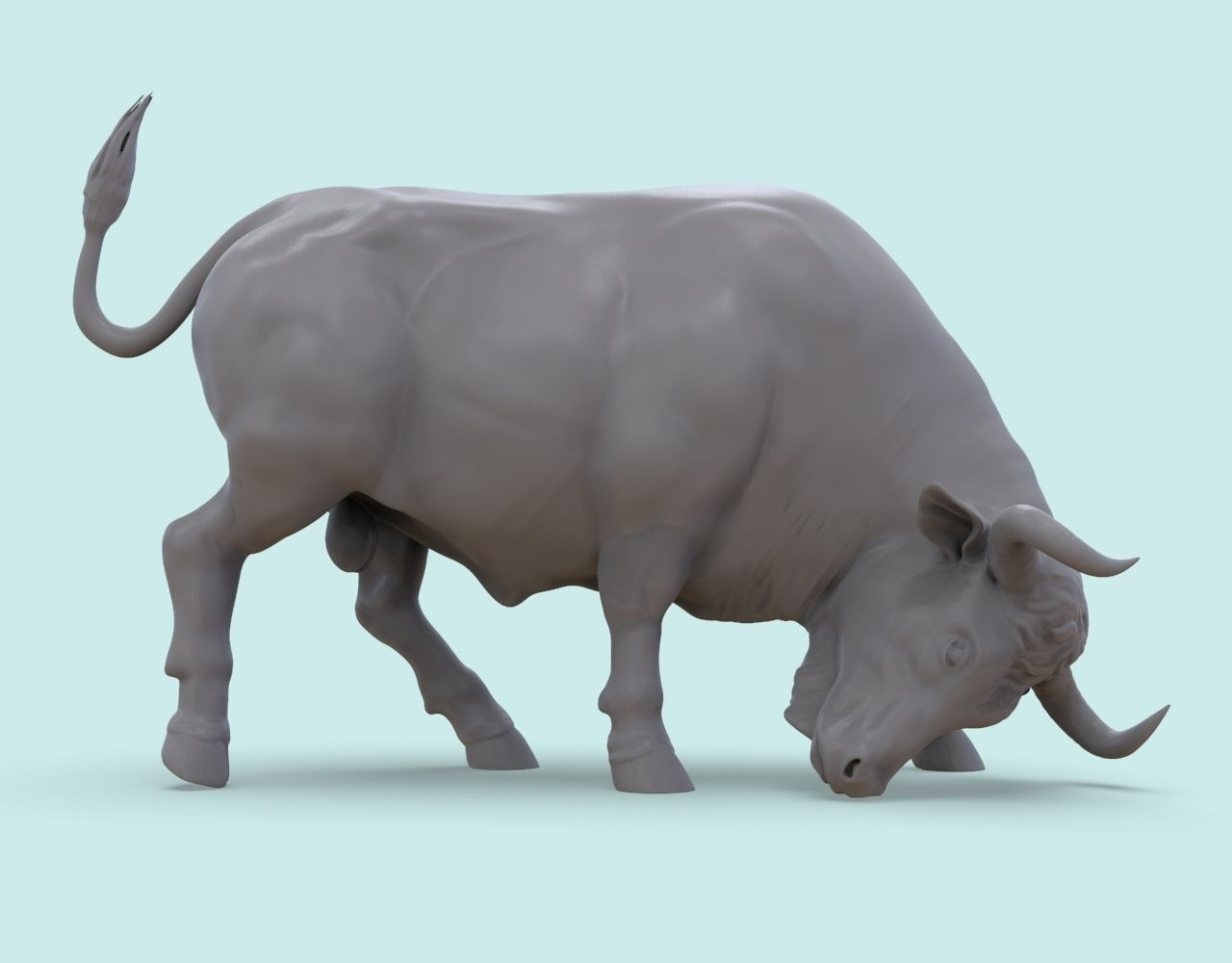 Bull on the Corrida