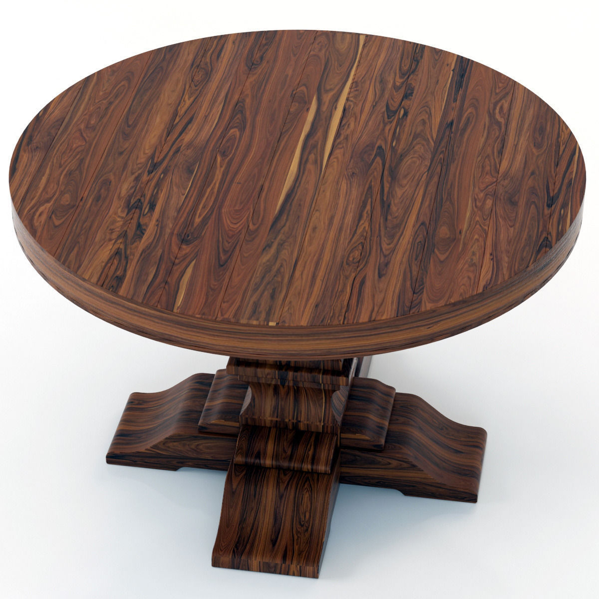 Restoration Hardware Kitchen Tables: Restoration Hardware Dumont Round Dining T... 3D Model