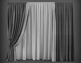 Curtain 3D model 48