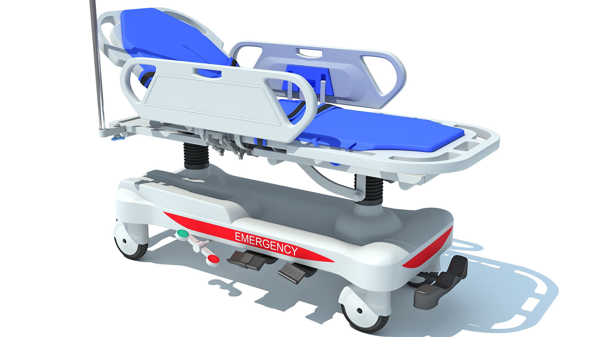 Ambulance Patient Transfer Stretcher Trolley