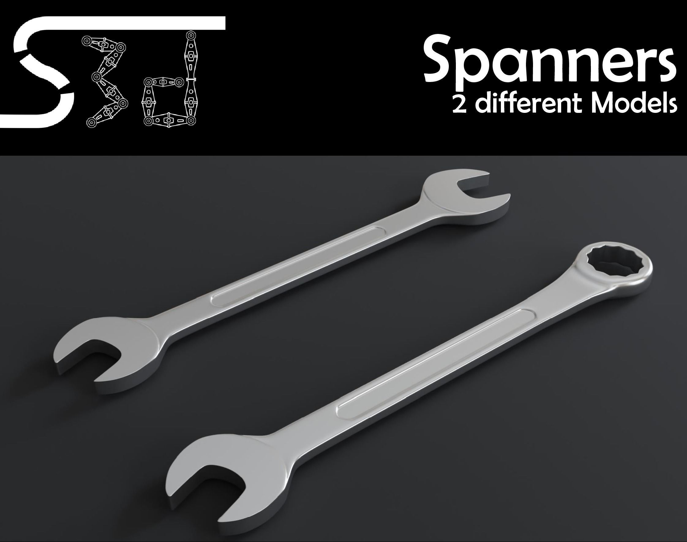 Spanner Wrench Models