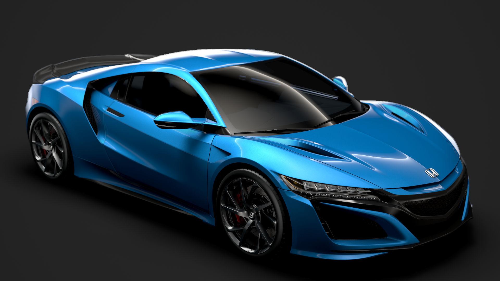 Honda NSX 2020 3D model | CGTrader