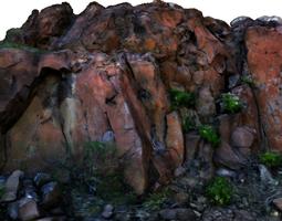 3d stone wall i