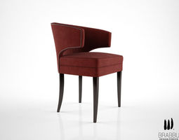 brabbu ibis dining chair 3d