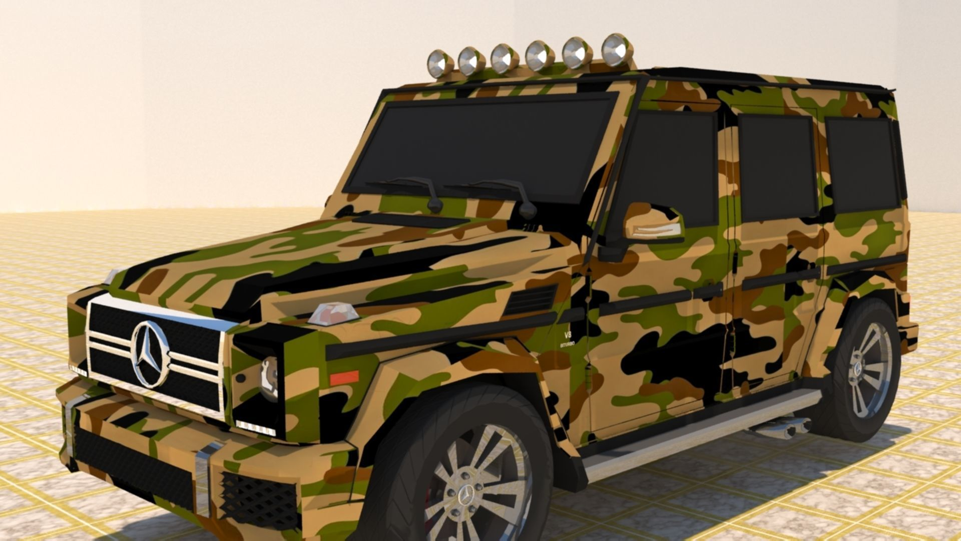 MERCEDES BENZ G550 G-CLASS G-WAGEN MILITARY GRADE