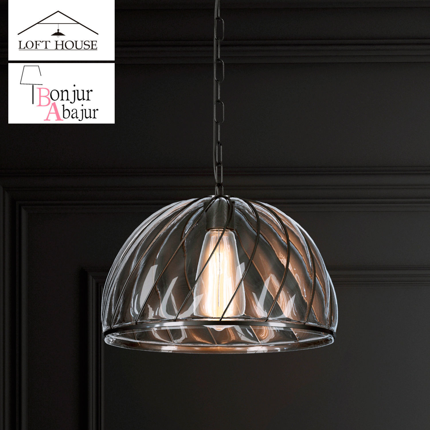 Hanging lamp LOFT HOUSE P-165