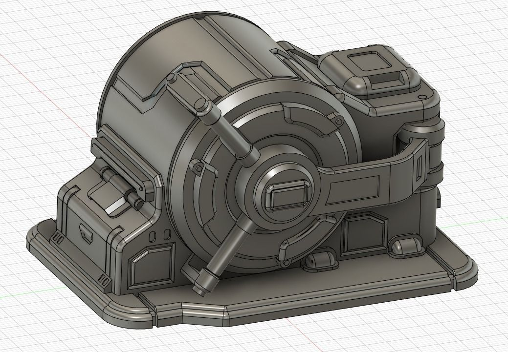 Sci Fi Safe Vault for Wargames