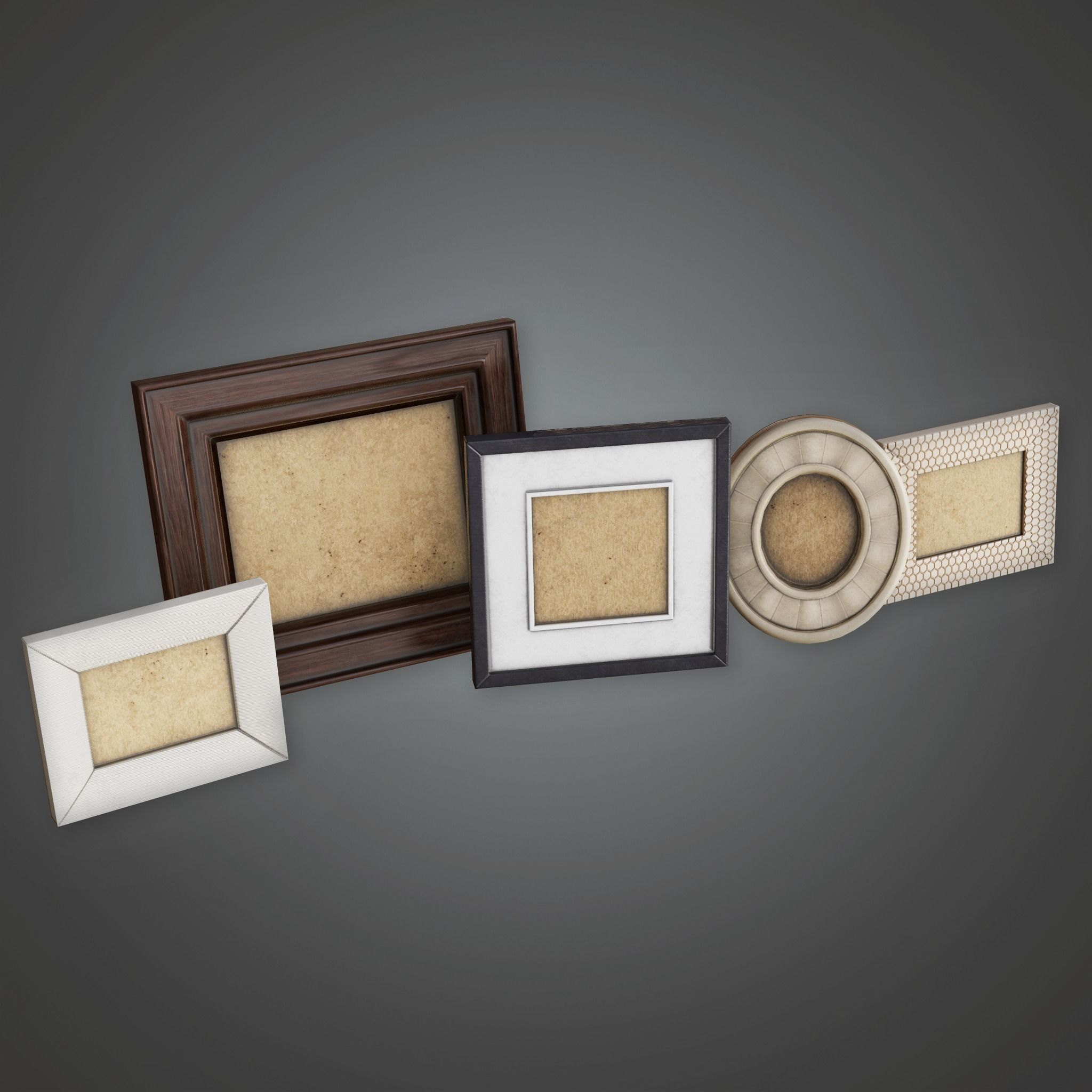 GEN - Household Picture Frames - PBR Game Ready