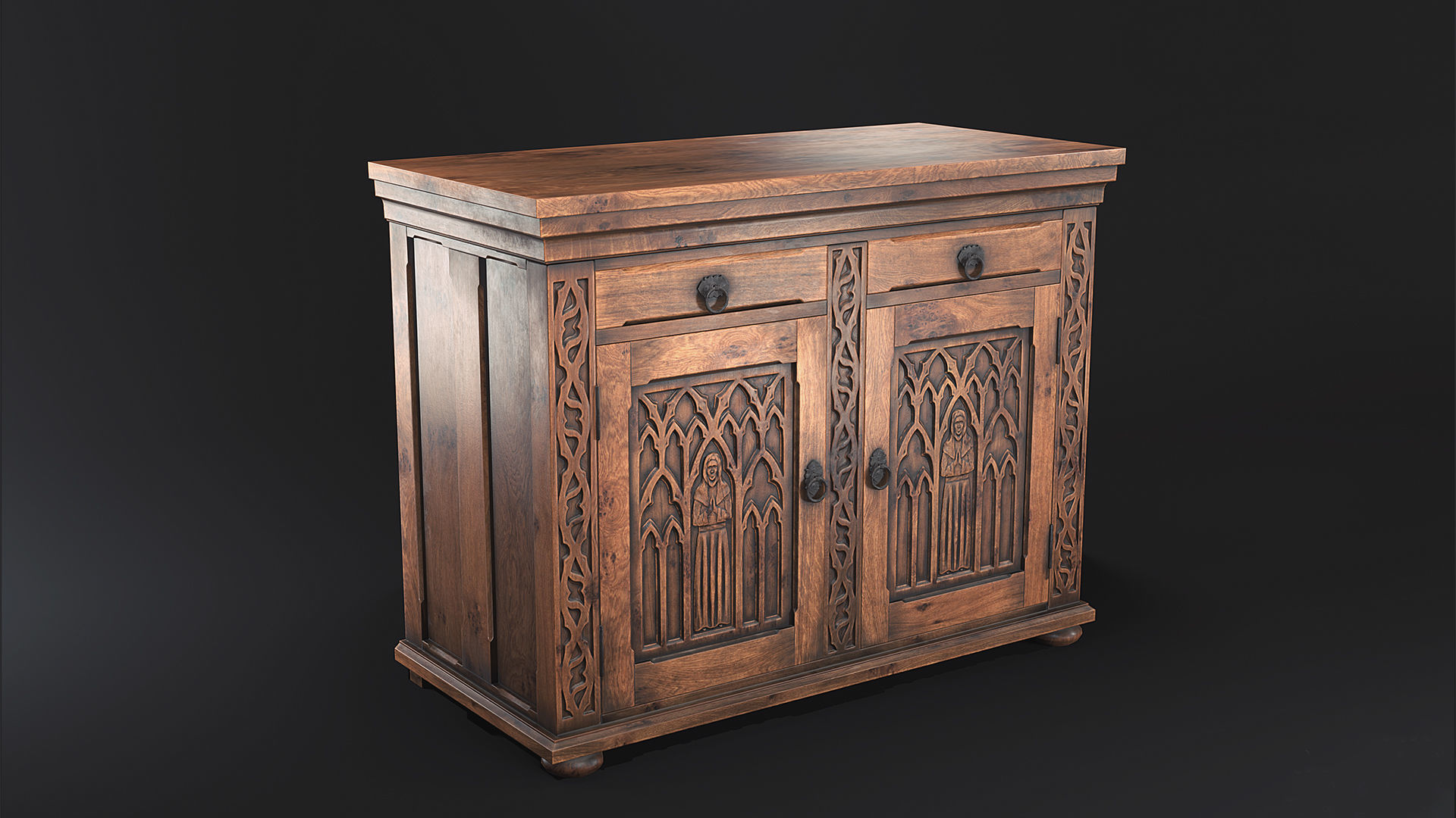 Gothic Commode