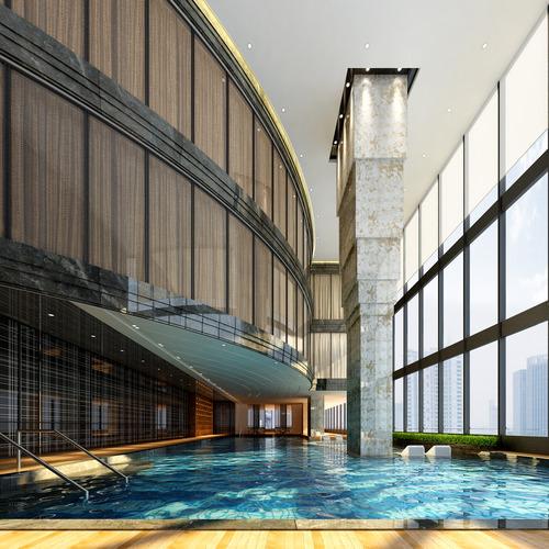 lobby pool 24645 3d model max 1