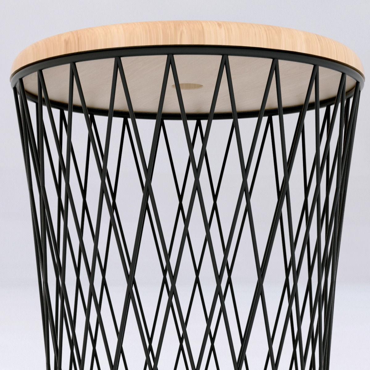 Boconcept stool 3d model max obj 3ds fbx mtl - Boconcept mobel ...