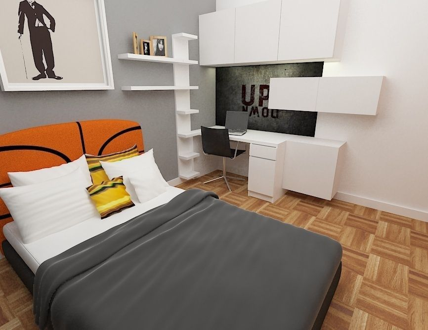 Kids Room Architectural Cgtrader