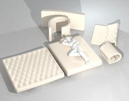 mattresses 3D model