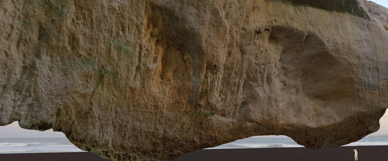Big Cliff - 55 m - limestone 3D