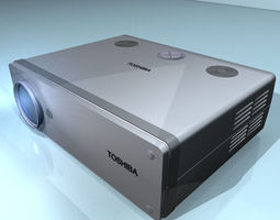 projector 01 3d model obj 3ds c4d dxf