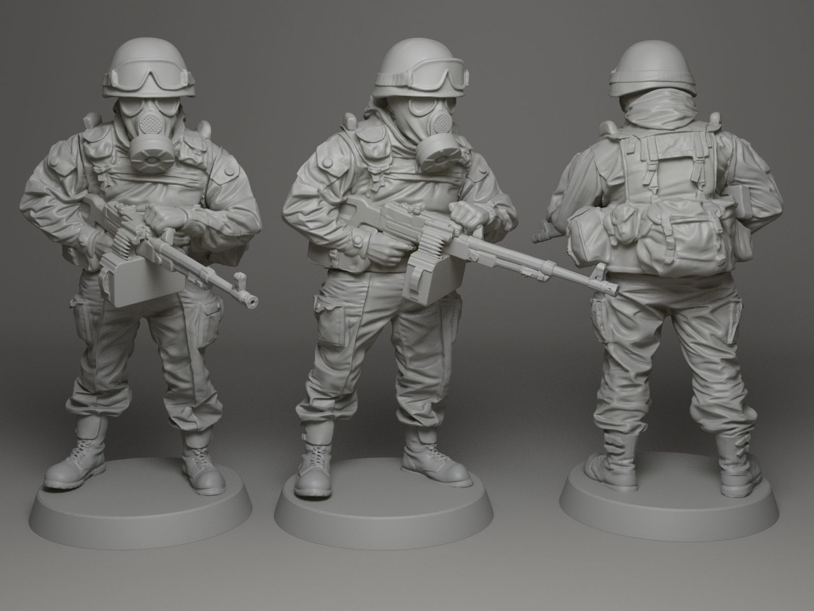 Soldier 28mm scale