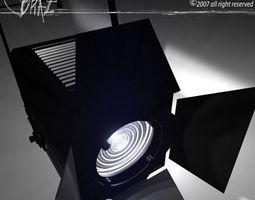 3D model Stage light Fresnel