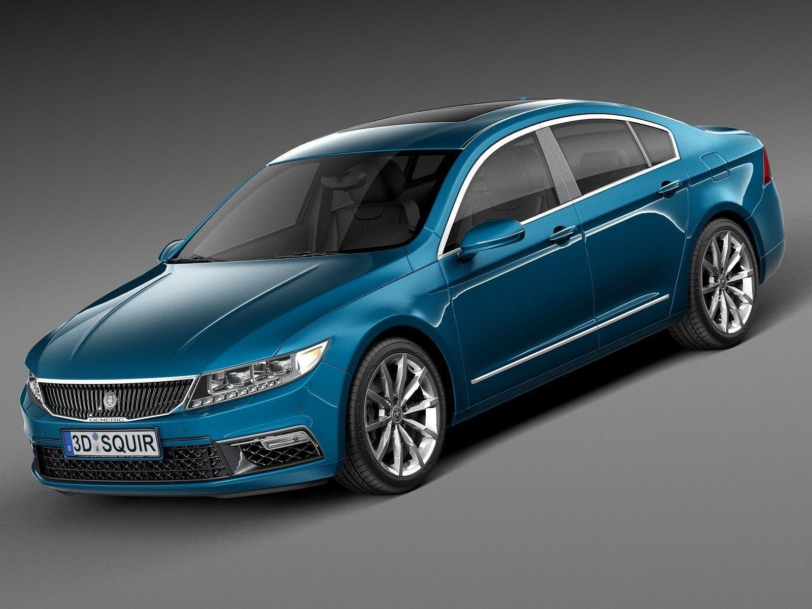 Generic Luxury Sedan 2016