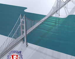 bridge york 3d model