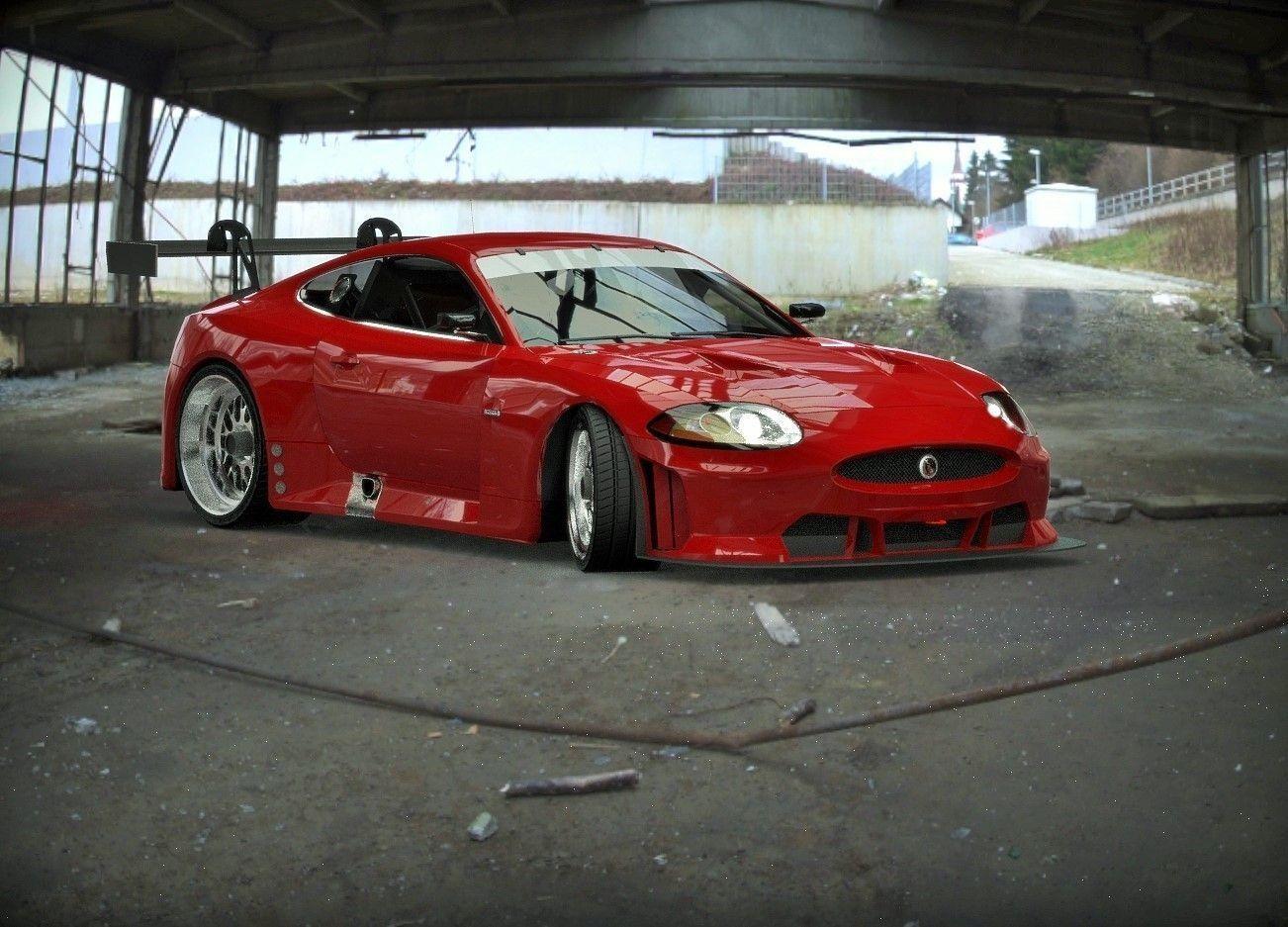 3D asset Jaguar XKR GT2 | CGTrader