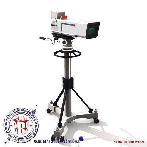 broadcast camera 3d model obj 3ds fbx c4d dxf dae 1