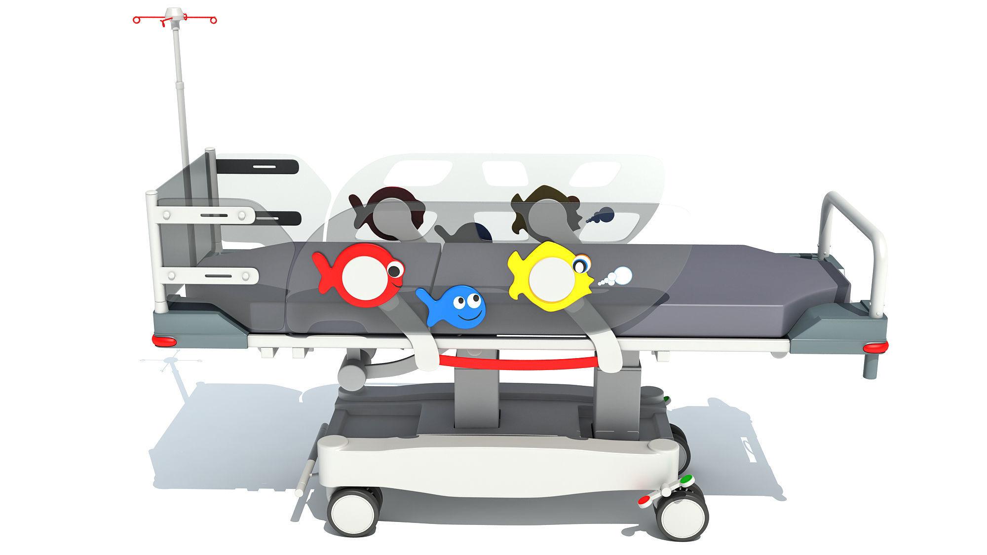 Stretcher Trolley for Children