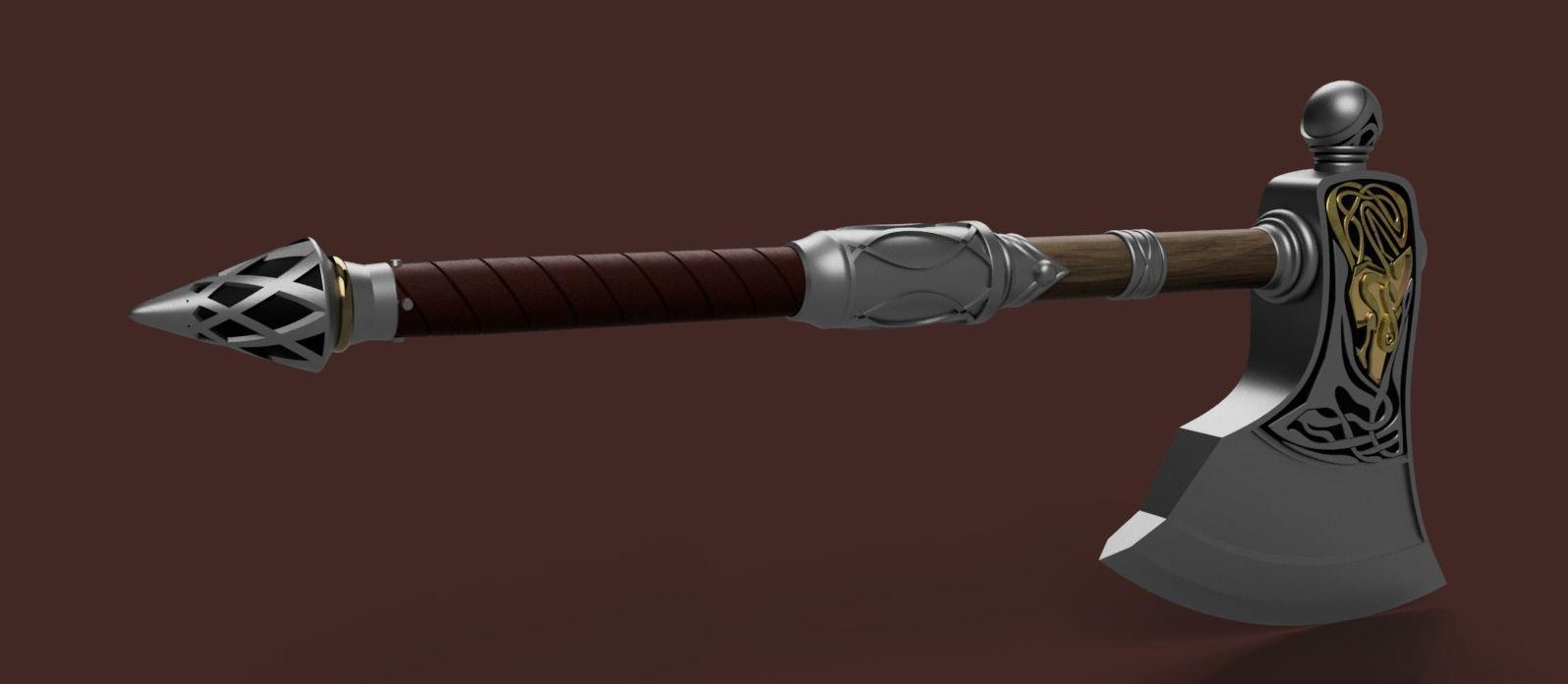 Assassins Creed Valhalla Wolf axe