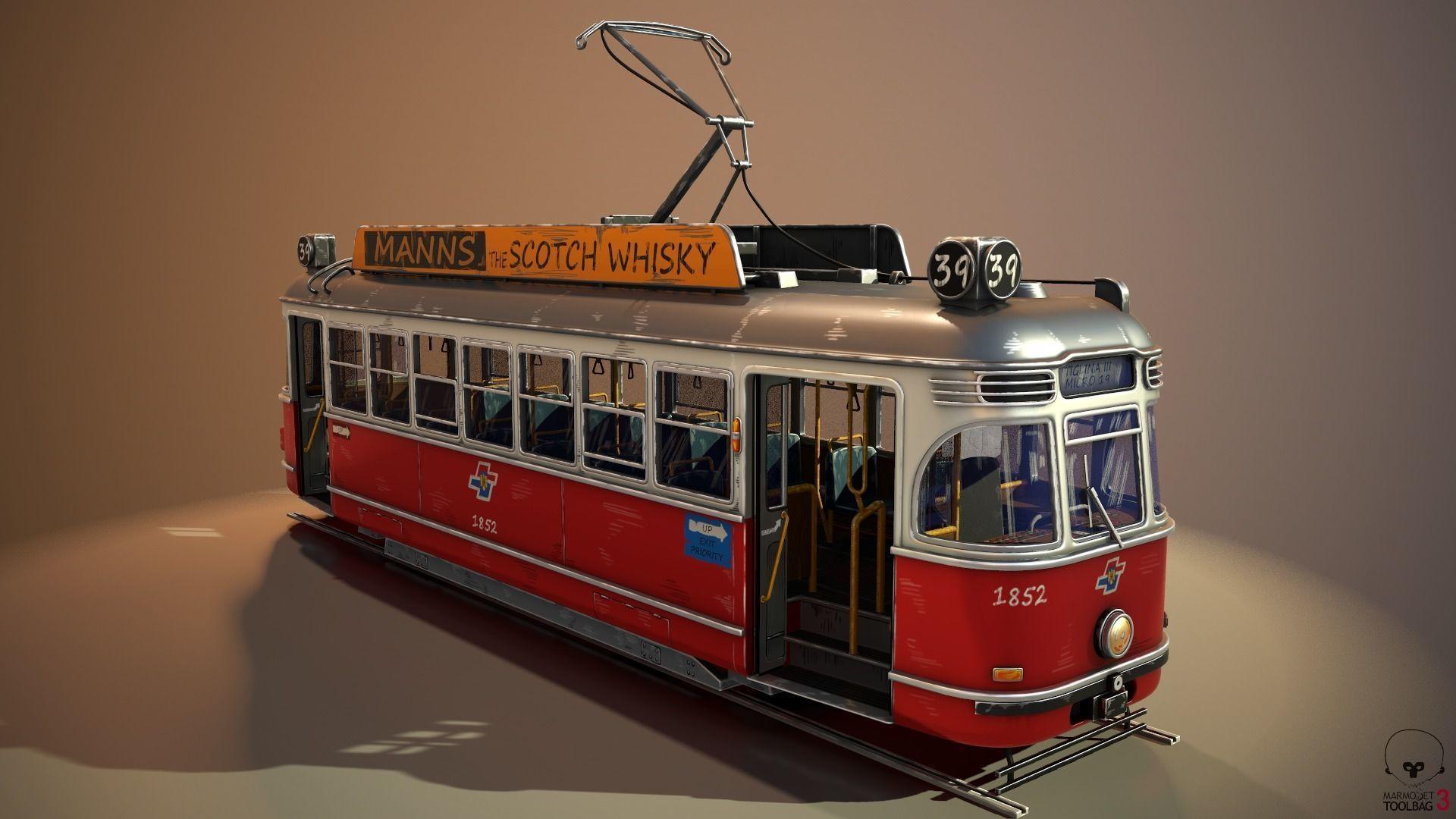 Tram Stylized
