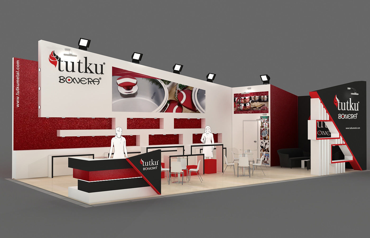 Exhibition Stand - ST0028