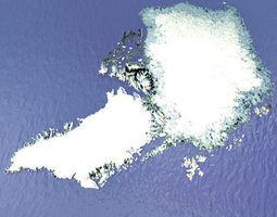 arctic greenland 3d