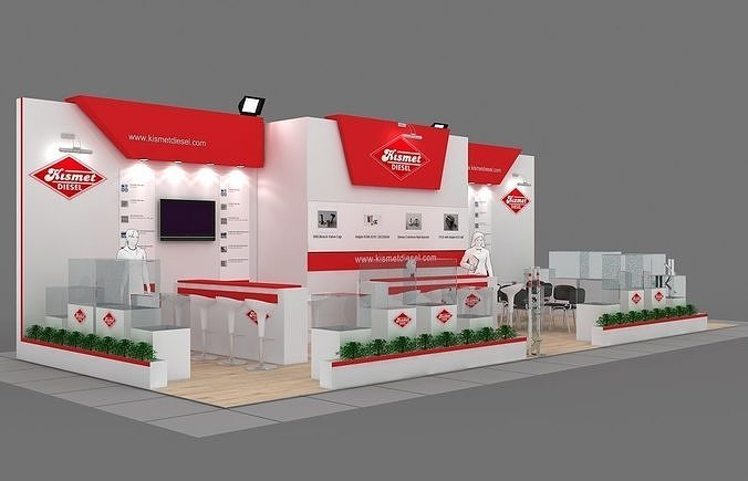 Exhibition Stand - ST0048