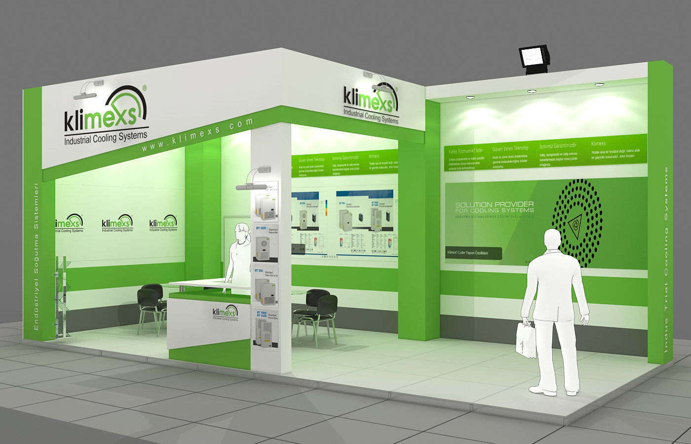 Exhibition Stand - ST0049