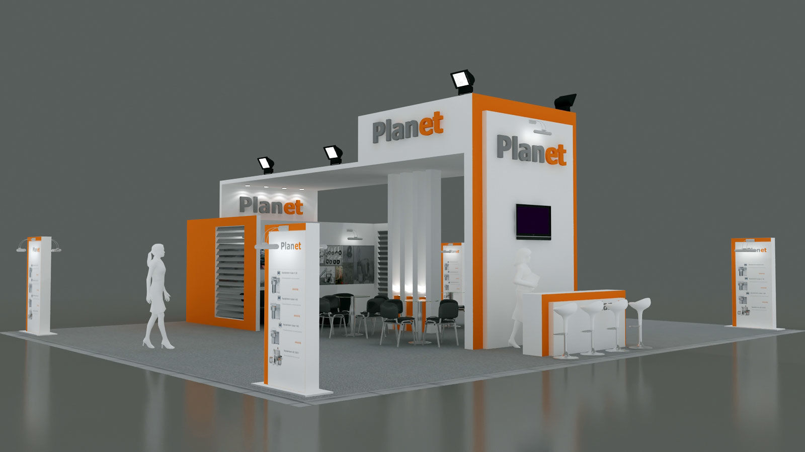 Exhibition Stand - ST0051