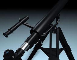 3d model celestron telescopio