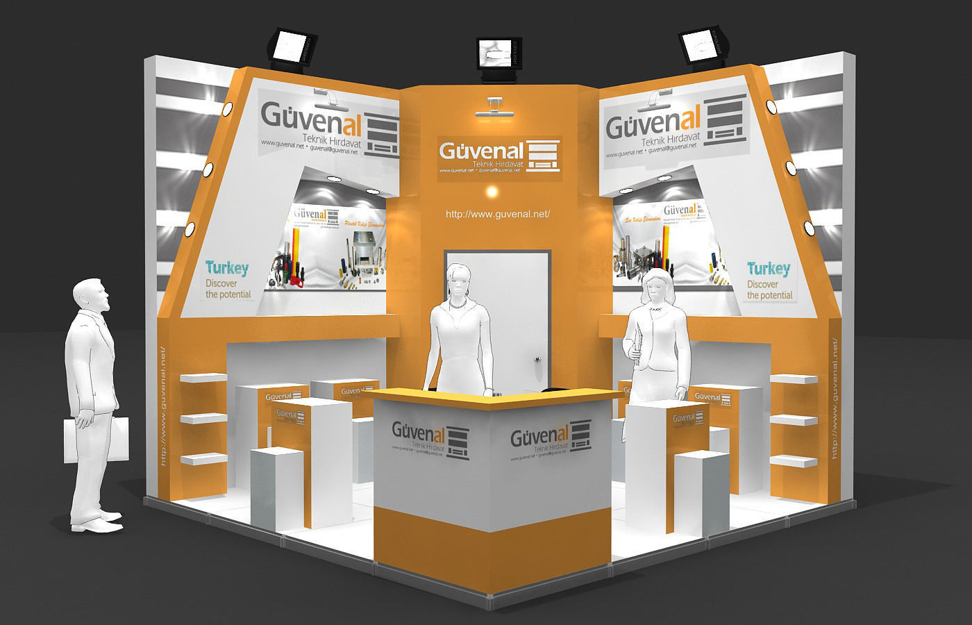 Exhibition Stand - ST0058