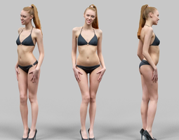 Free naked 3d women to pose