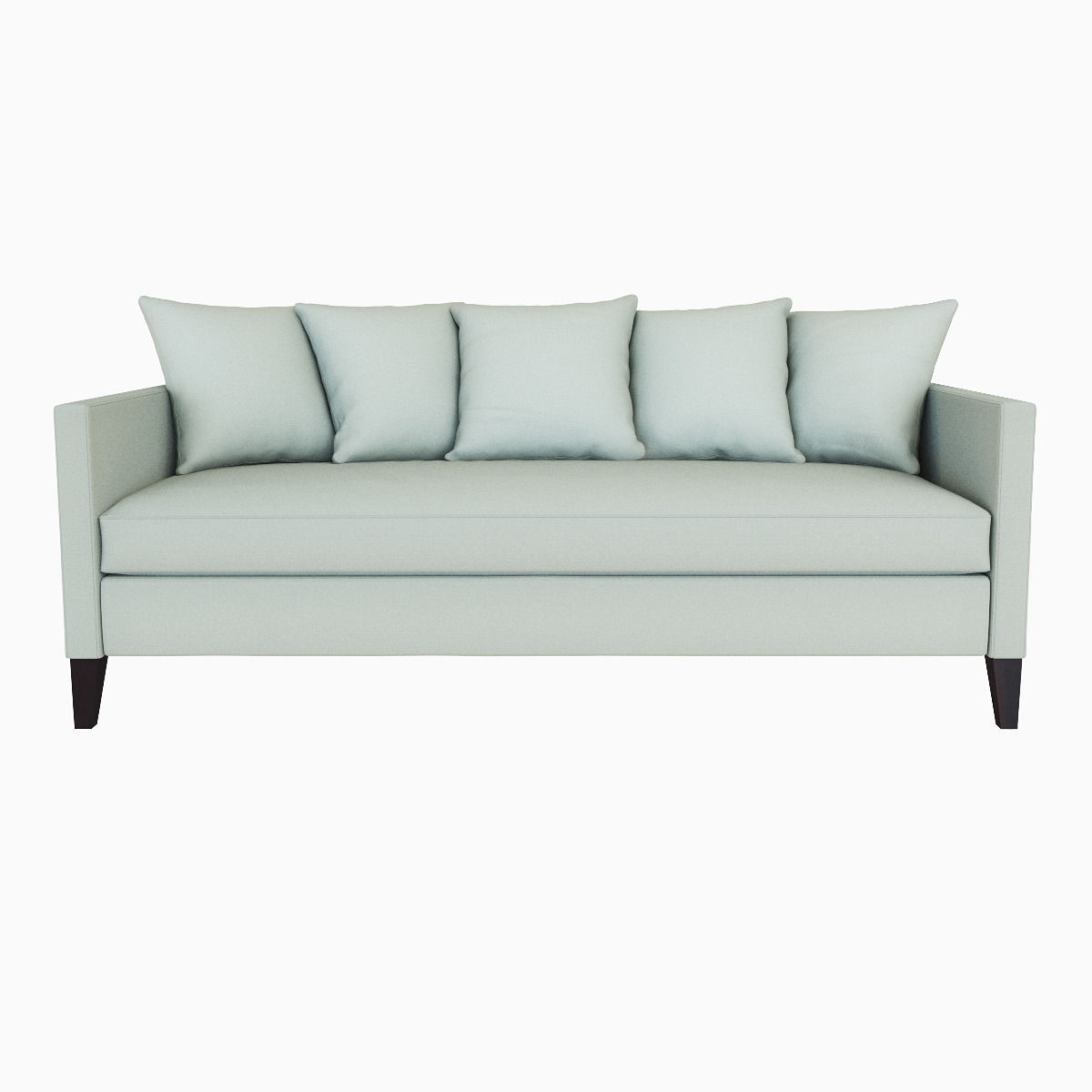 Down filled sofas slipcovered upholstered sofas loveseats for Best west elm sofa