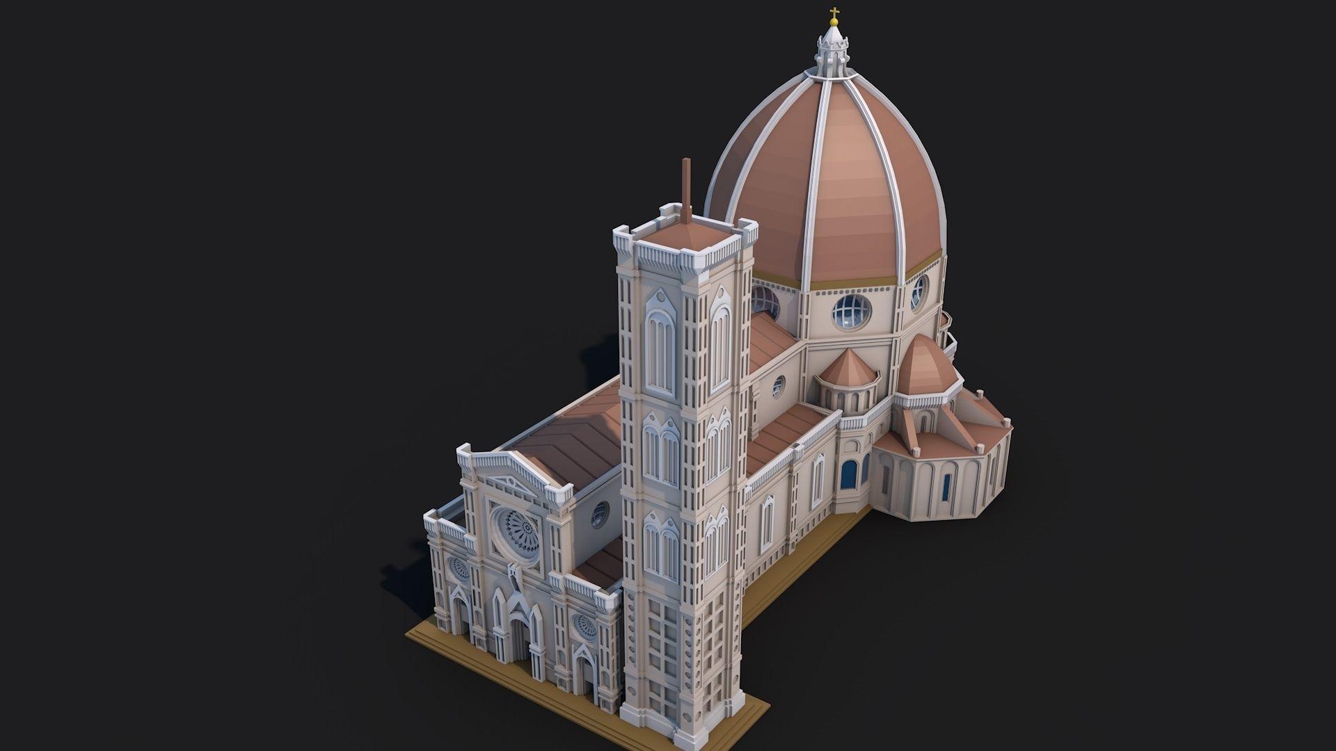 Florence Cathedral Landmark