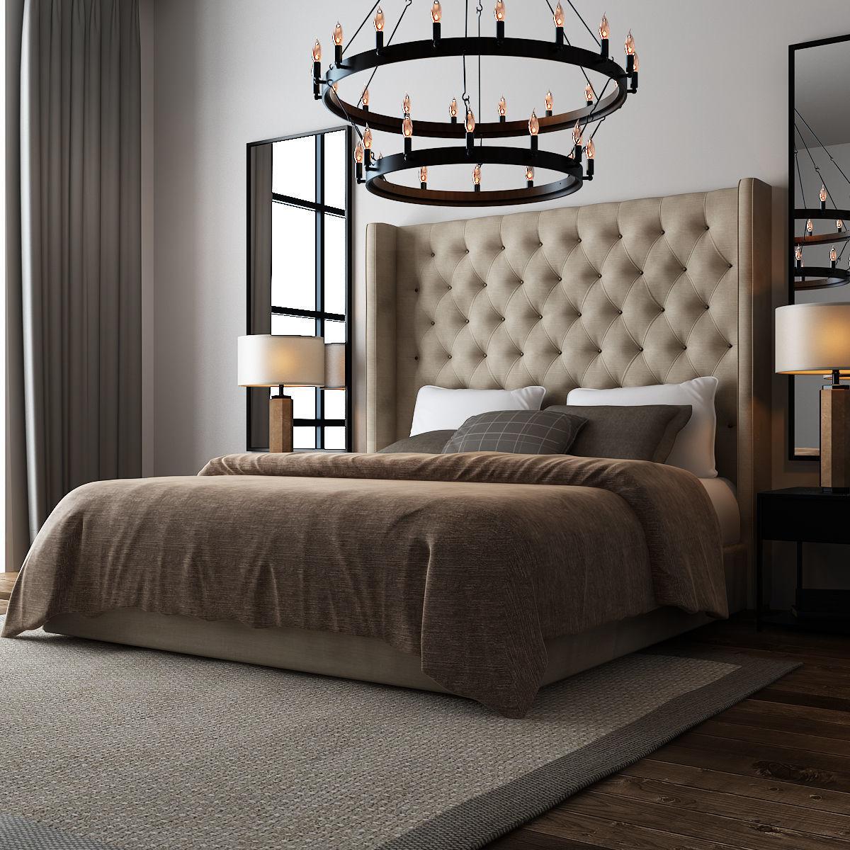 Rustic Bedroom  029