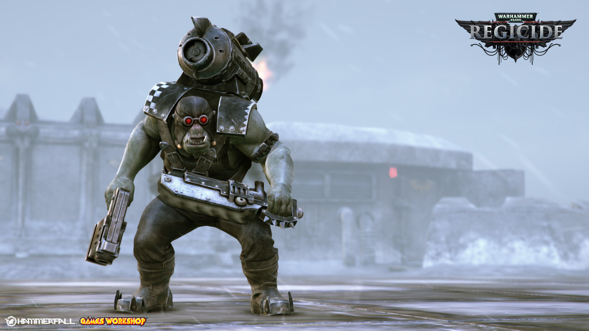 Ork reaper Warhammer 40k