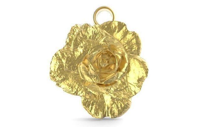 Rose pendant 1