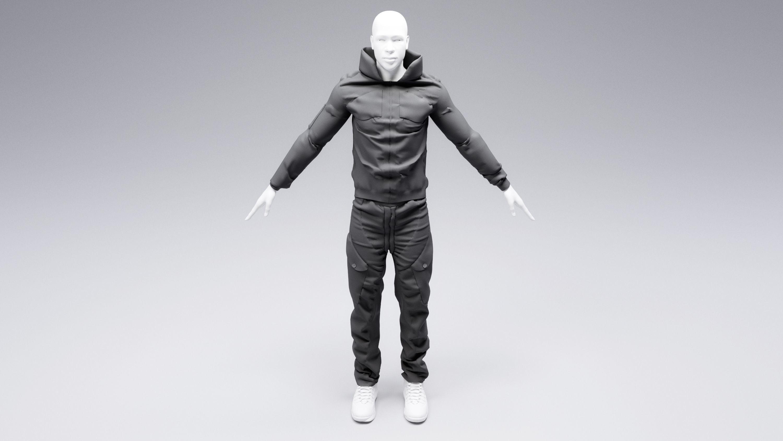 Cyberpunk jacket and pants